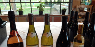 French Wine Scholar dinner wines