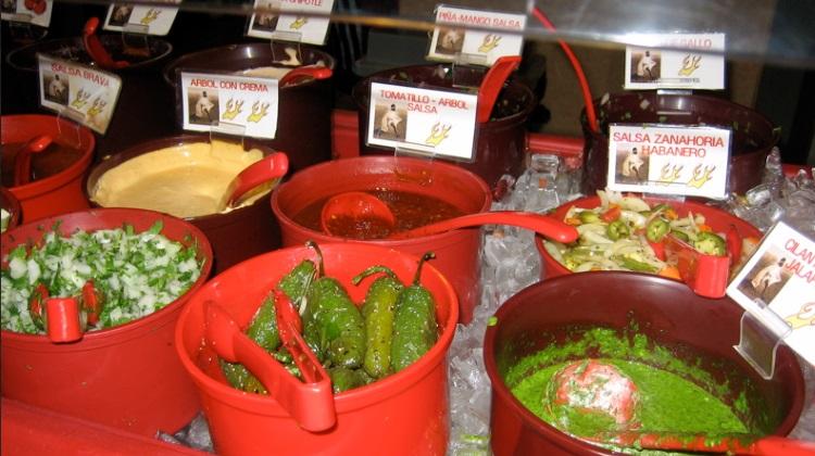 tarahumara salsa bar