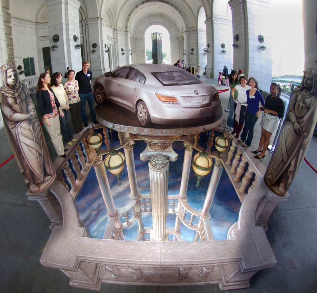'Buick Washington D.C.' by Kurt Wenner.