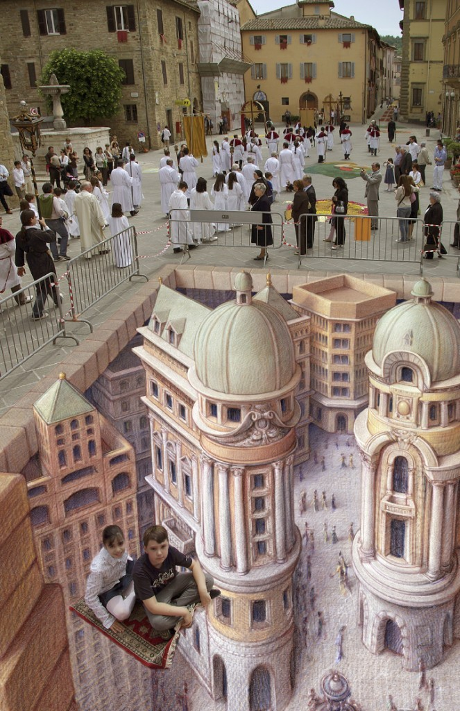 Ideal City by Kurt Wenner.