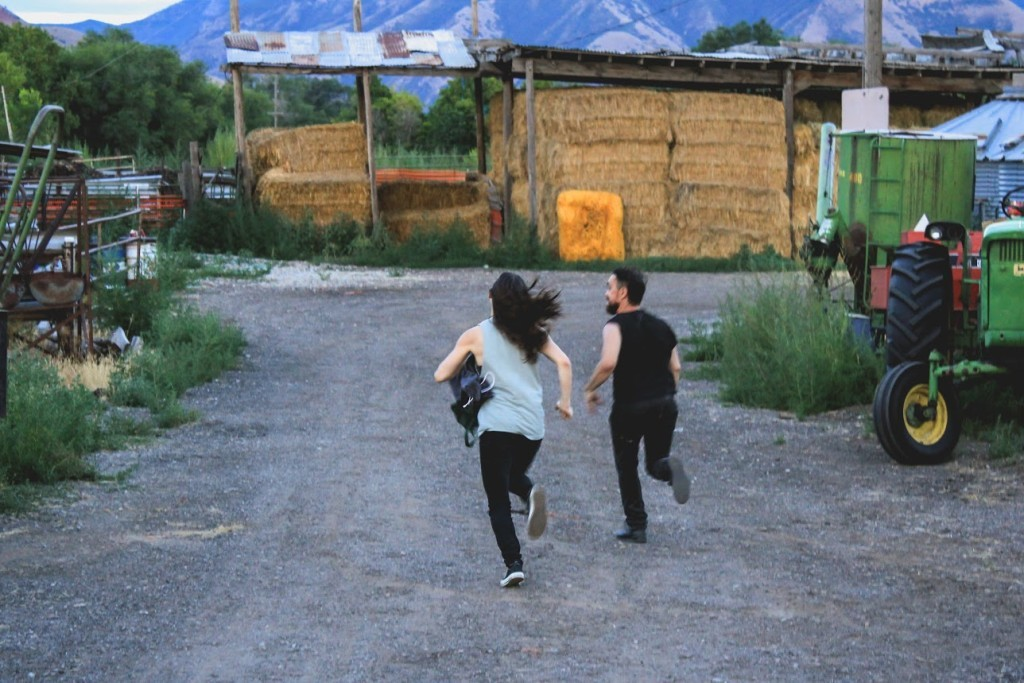 Scene from WIldife, directed by Ryan Darst, Utah Short Film of the Year, 2015 Fear No Film, Utah Arts Festival.