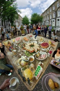 Kurt Wenner's 'The Big Lunch.'