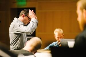 Andrew Rindfleisch – Conductor/Artistic Director,  Vertigo Ensemble.