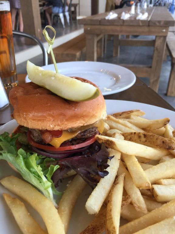 Cheeseburger in paradise? Yup!