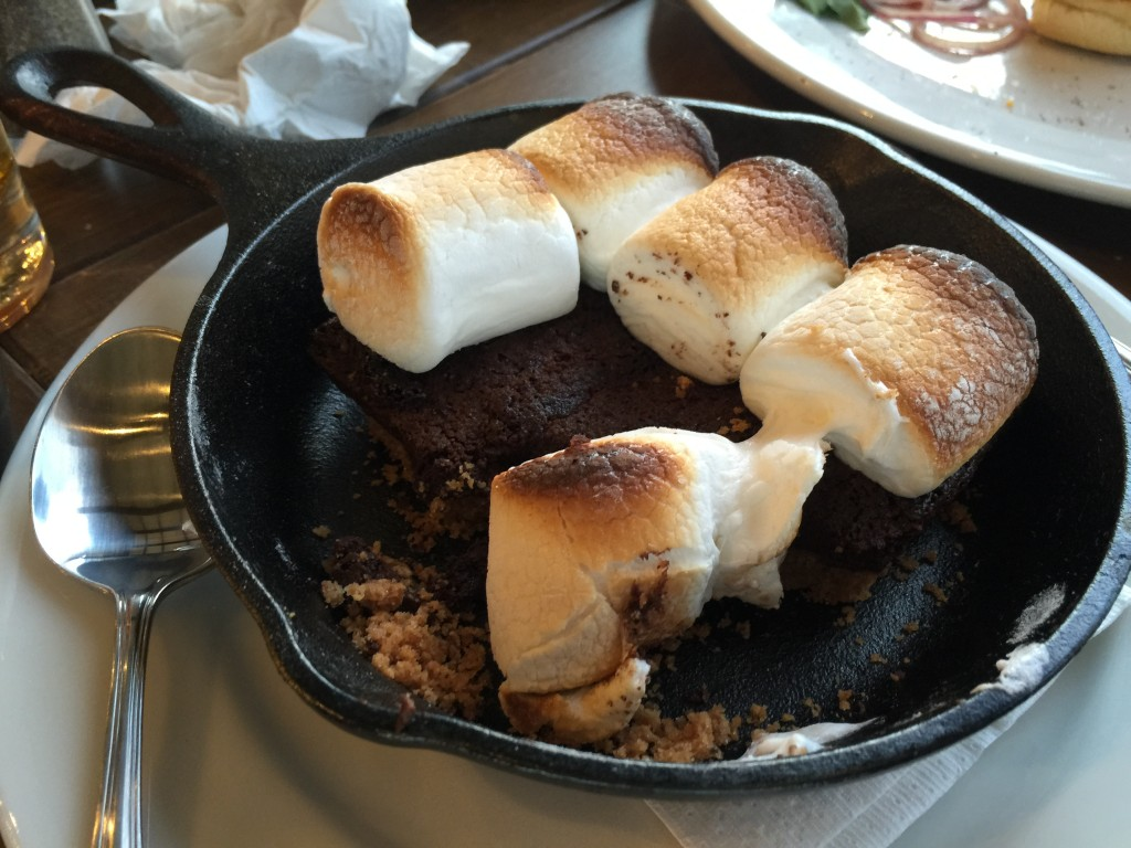 Aside form being delicious, the best part of these S'more was not having to attempt to roast my own marshmallows.