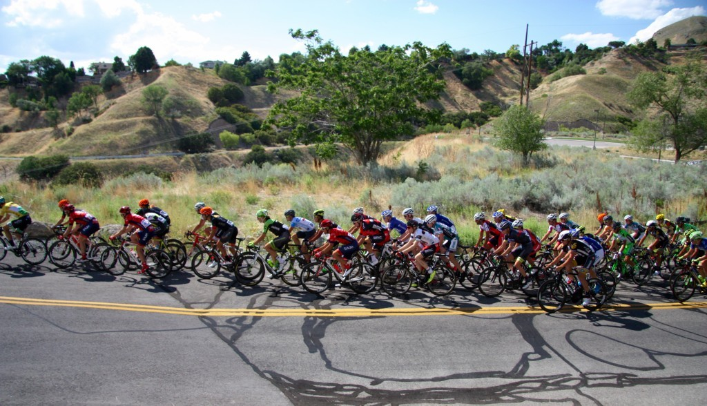 Racers came from all around the world to race this year's edition of the Tour of Utah.
