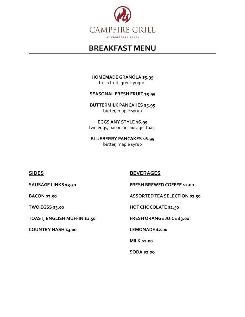conestoga breakfast-menu