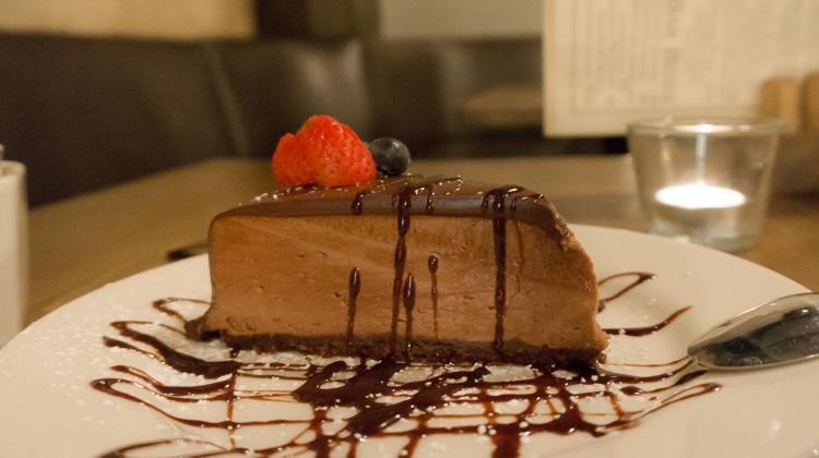 BTG wine bar chocolate cake