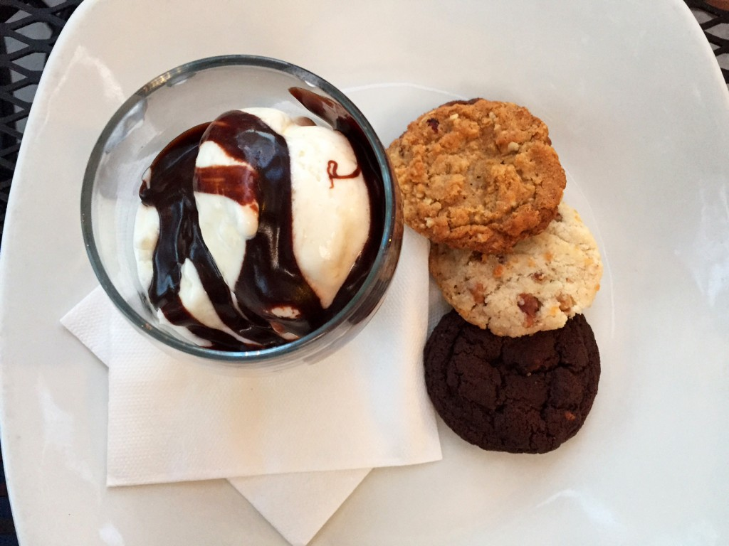 milk & cookie dessert
