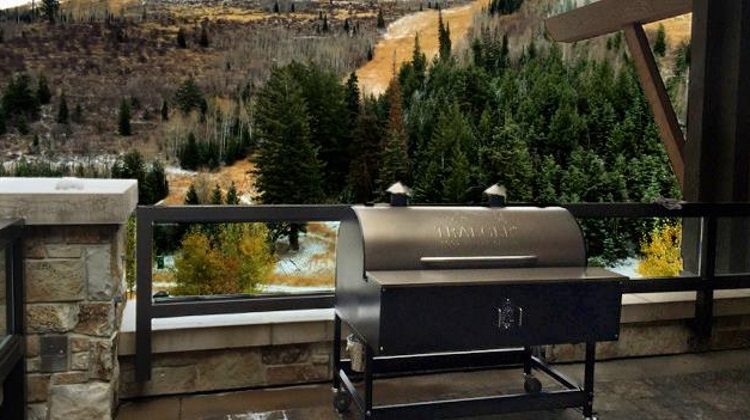 Traeger Grill used by Deer Valley Resort chef Chip McMullin