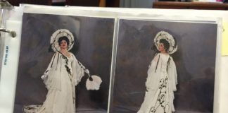 costumes from Utah Opera's The Merry Widow