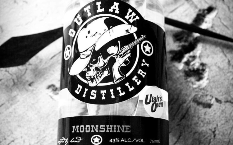 Outlaw Distillery Moonshine