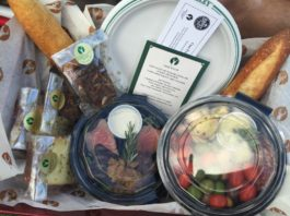 Deer Valley gourmet picnic basket
