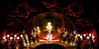 Utah Opera Turandot rehearsal