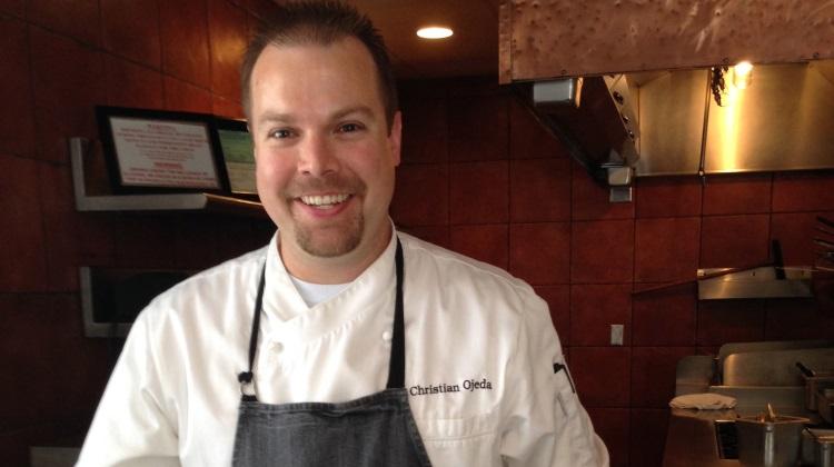 Sky Lodge table one Chef Christian Ojeda