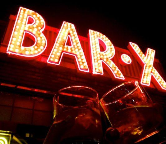 Cocktails at Bar X in Salt Lake City.