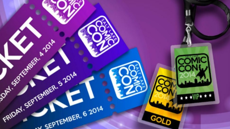 salt lake comic con 2014 tickets and badges