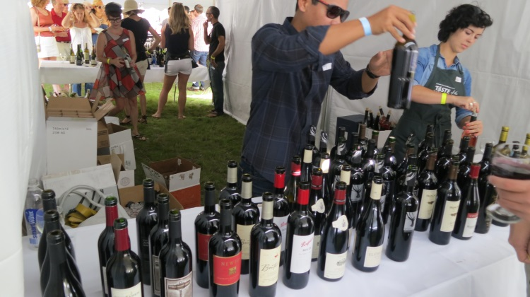 wine at taste of wasatch 2013