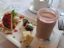 dessert sampler at riverhorse on main