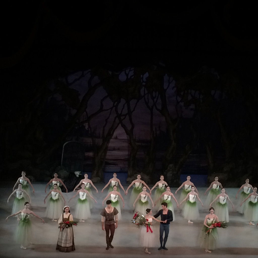Ballet West's Giselle curtain call