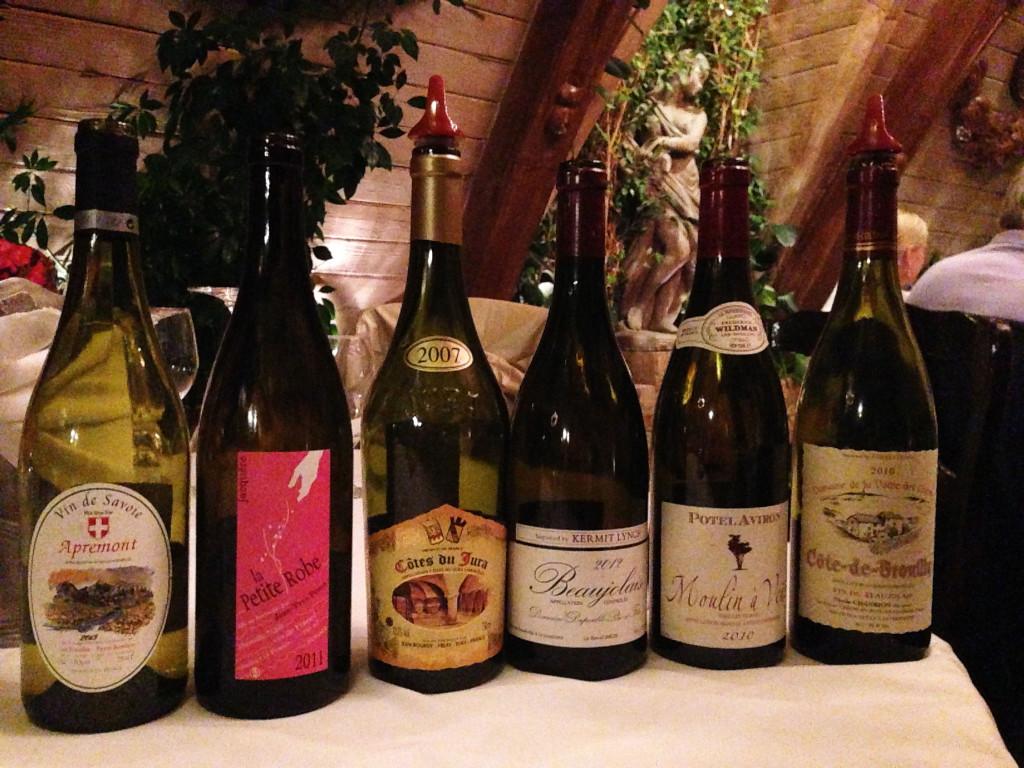 wines of Savoie, Jura and Beaujolais