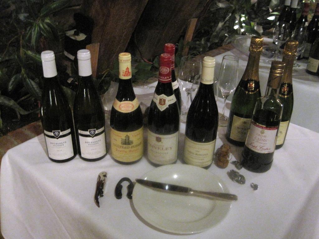 wines of Bourgogne