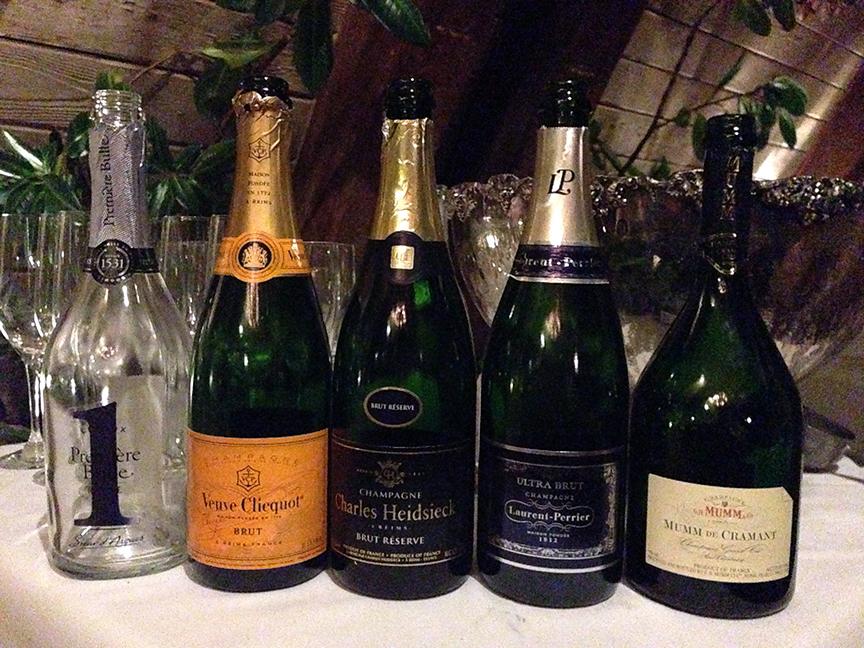 French Wine Scholar program: Champagnes