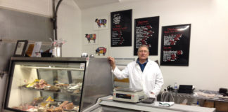 Salt & Smoke Artisan Meats' owner and butcher Frody Volgger