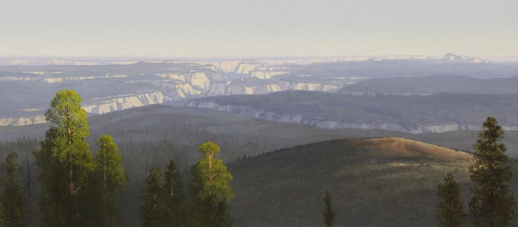 Jim Jones, North Face of Zion, 2008 State of Utah Fine Art Collection