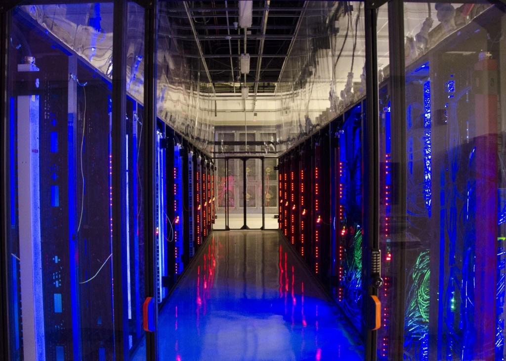 CloudLab data center at The University of Utah.