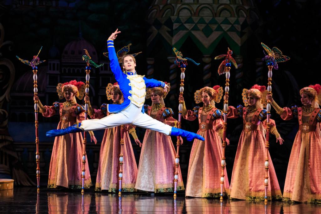 Soloist Alexander MacFarlan in Ballet West's The Nutcracker 2 - Photo by Luke Isley